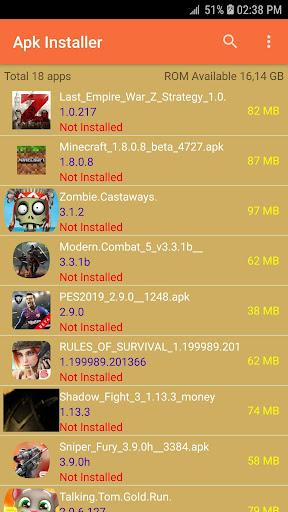 Apk Installer 2.7.5 screenshots 2