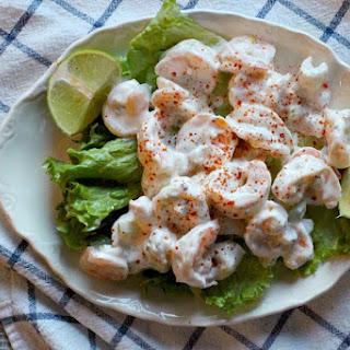 Creamy Lime Zest Shrimp Salad.