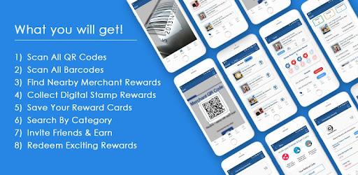 Positive Reviews: QR Scanner Rewards - QR Reader & Loyalty