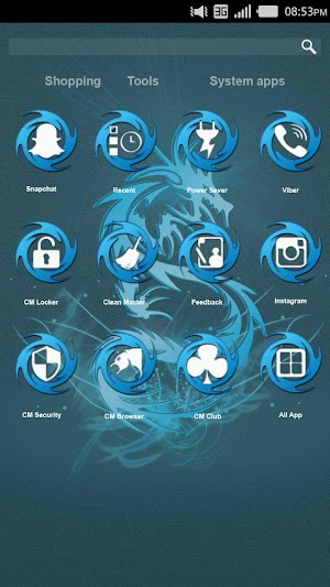 2 Dragon Theme App screenshot
