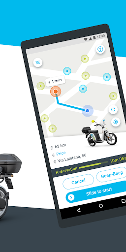 eCooltra: Scooter Sharing Rent an electric scooter  screenshots 2