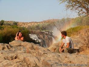 Photo: Vodopády Epupa / Epupa waterfalls