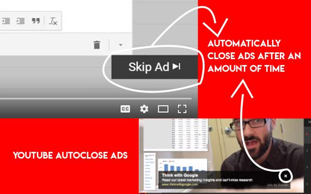 Youtube Autoclose Ads