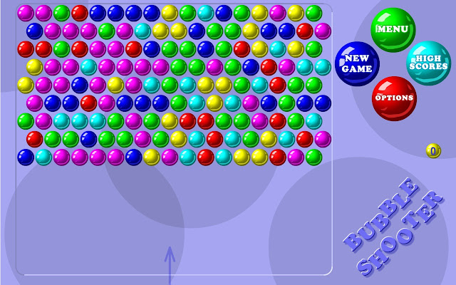 bubble shooter full screen free game