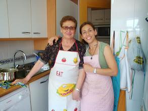 Photo: Yo y mi madre, la pinche