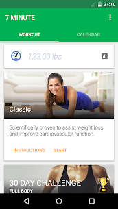 7 Minute Workout Mod 4.3.4 Apk [Unlocked] 2