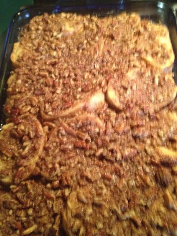Baked French Toast Casserole With Maple Syrup