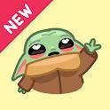 Baby Yoda Stickers 💖 WAStickerApps icon