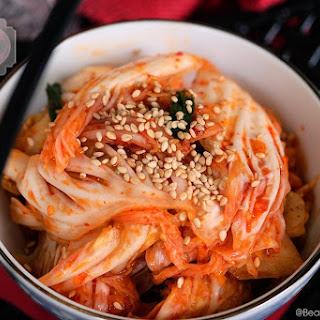 Instant Geotjeori (Instant Kimchi)