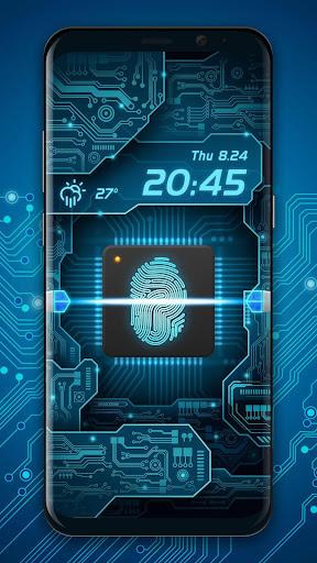 Fingerprint Scanner to Unlock Phone Prank  screenshots 1