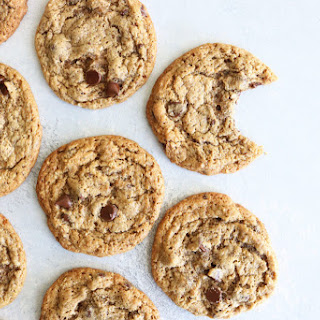 Perfectly Chewy Chocolate Chip Cookies.
