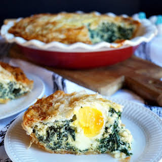 Torta Pasqualina {italian Spinach & Ricotta Pie}.