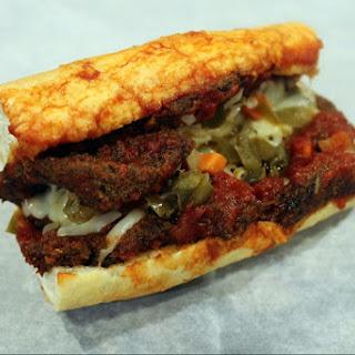 Chicago Style Breaded Steak Sandwich