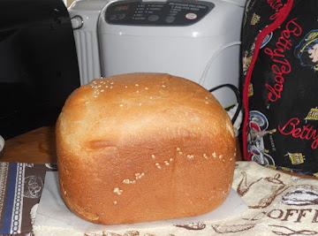 Farmhouse White Bread (for Bread Machine) Recipe