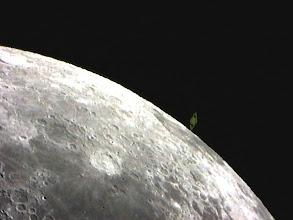 Photo: Saturno è ormai uscito dalla parte illuminata della Luna