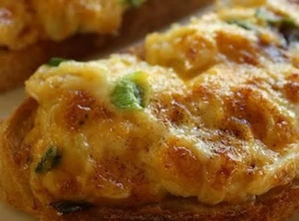 Cheesy Crab Bread Recipe