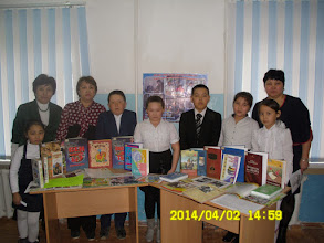 Photo: Халықаралық балалар күніне орай өткізілген кітап мерекесі