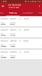 Binary Trader EU - náhled