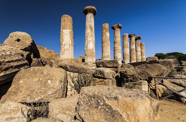 Colonne della valle dei templi di Pino1963