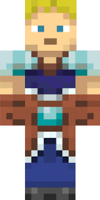WIP for a replication of a Minecraft Dungeons skin.