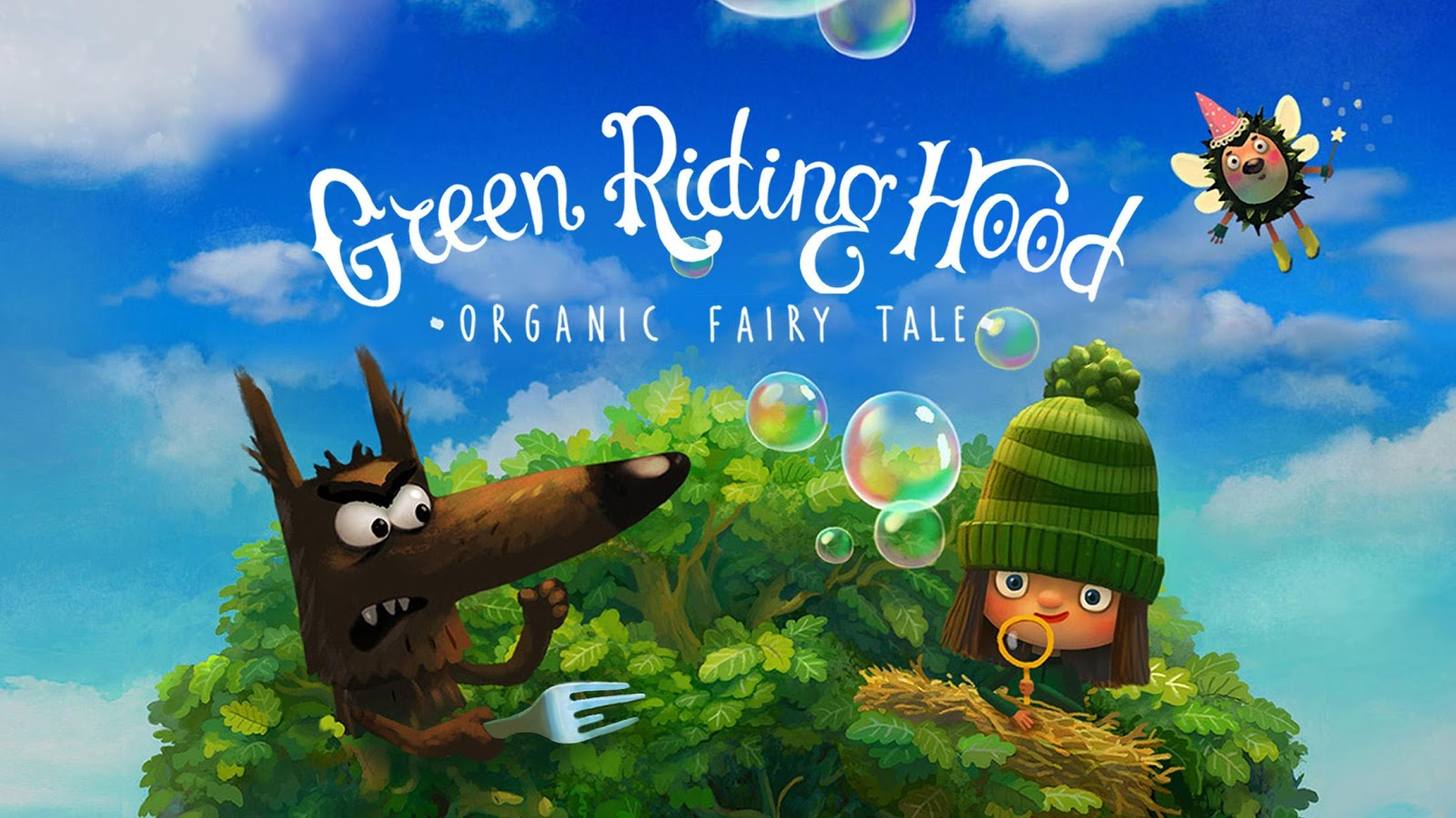 Green Riding Hood. Organic Fairy Tale- screenshot