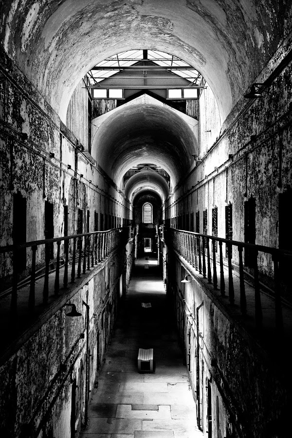 Eastern State Penitentiary by Lisa Mirante - Buildings & Architecture Public & Historical ( eastern state penitentiary, prison, penitentiary )