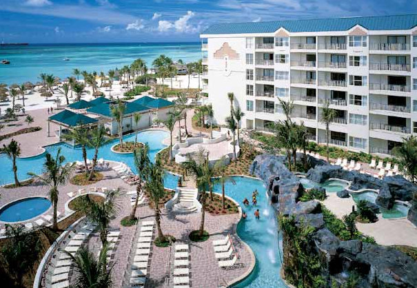 Marriott S Aruba Ocean Club Is A Gorgeous Property Located Right On White Sandy Beach And The Crystal Clear Waters Of Caribbean Sea