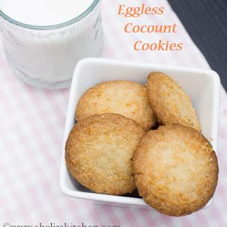 Eggless Coconut Cookies.