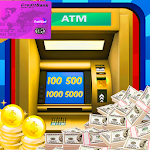 ATM Shopping Cash Simulator Icon