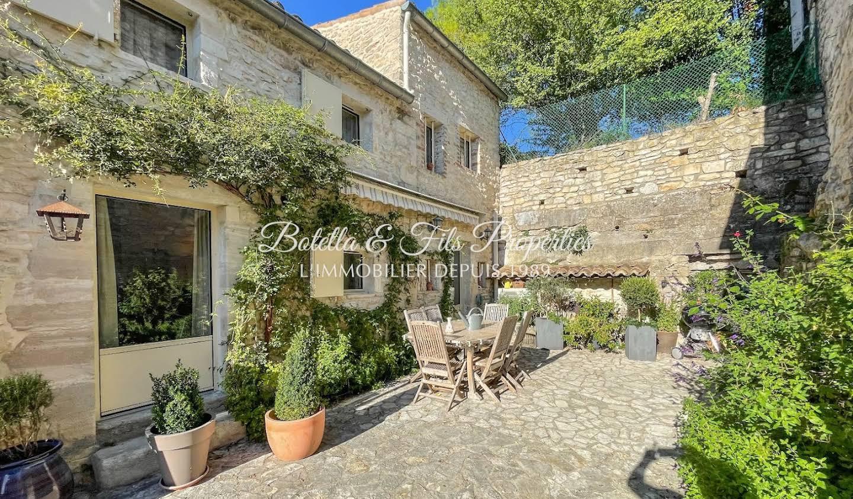 Maison avec terrasse Barjac