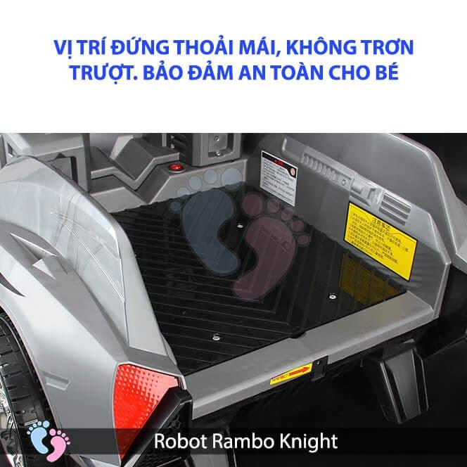 Siêu phẩm Robot Rambo Knight Cho bé 16