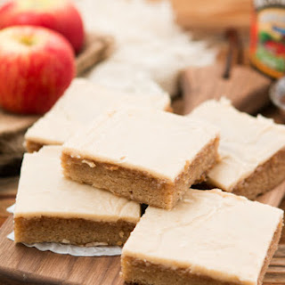 Apple Butter Spice Sheet Cake
