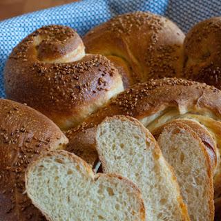 Pane Siciliano (Sesame Seed Sicilian bread)