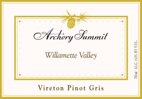 Logo for Archery Summit Vireton Pinot Gris