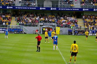 Photo: der rote Schiedsrichter war nicht zu uebersehen :-)