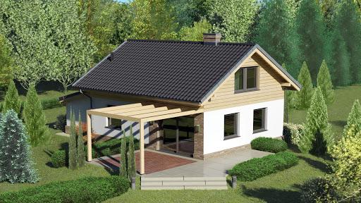 projekt Dom przy Imbirowej 6 N