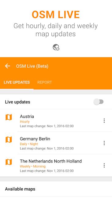 #8. Maps & GPS Navigation OsmAnd+ (Android)