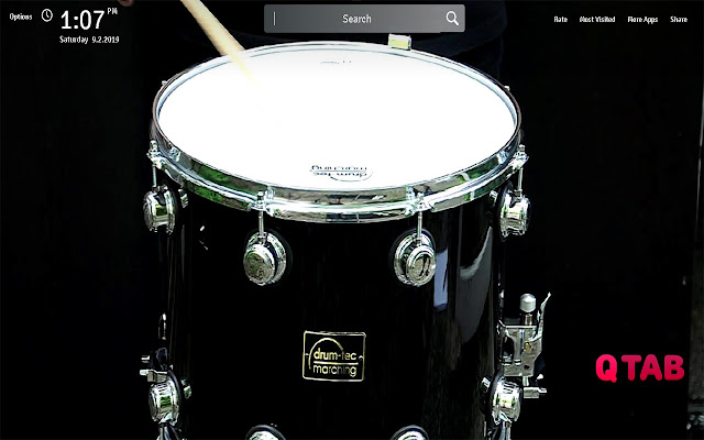 Drum Wallpapers Theme Drums New Tab