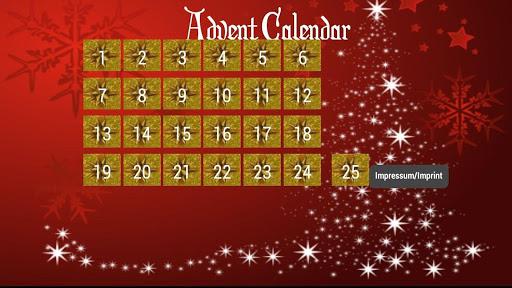 Advent Calendar 25 doors