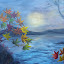 Automous sea by Natascha Trainor - Painting All Painting