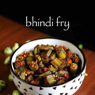 Bhindi Fry Recipe | Bhindi Ki Sabzi | Bhindi Masala Dry | Okra Fry.
