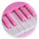 Bermain Piano Pink (game)