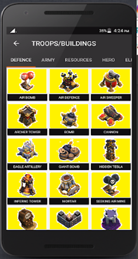 Guides for Clash of Clans 2.1.1 screenshots 2