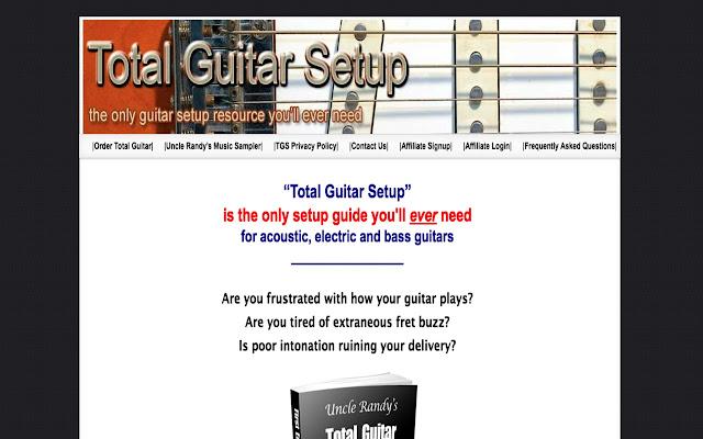total guitar setup guide