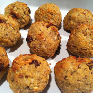 Couscous And Raisin Stuffing Balls