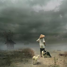 The Lost Grass by Eli Supriyatno - Digital Art People