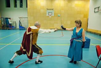 Photo: Generale repetitie - zo kan het ook, de de supersterke dame kent geen angst
