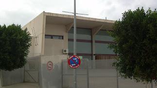 Imagen de la fachada del I.E.S. Carmen de Burgos de Huércal de Almería.