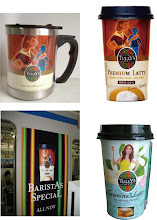 Photo: package illustrations for Tully's coffee