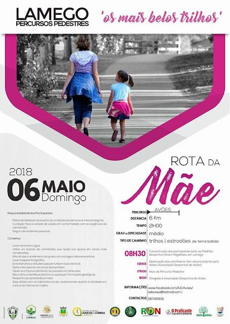 Programa – Rota da Mãe – Lamego – 6 de Maio de 2018